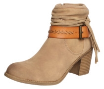 Ankleboots 'Dallas' beige
