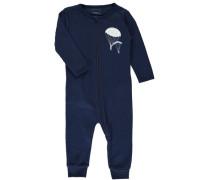 Schlafanzug 2er-Pack blau / weiß