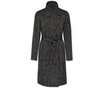 Mantel Woll grau