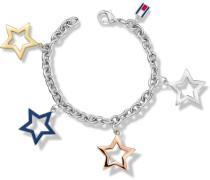 Armband »Sterne Classic Signatur 2700890« grau