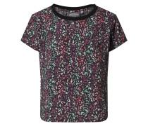 Shirt 'Spring' schwarz / mischfarben