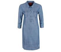 Jeanskleid mit 3/4-Ärmel blue denim