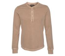 Shirt 'Serafino' beige