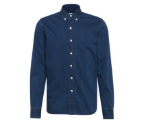 Jeanshemd 'LS Pacific NO PKT Shirt' indigo