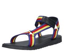 Sandale 'strappy Webbing Sandal' mischfarben