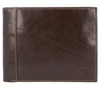 'Bern' Geldbörse Leder 13 cm braun
