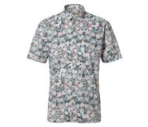 Regular Fit-Kurzarmhemd mischfarben