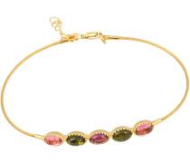 Armband mit Turmalinen gold
