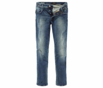 Slim-fit-Jeans 'Tim' blue denim