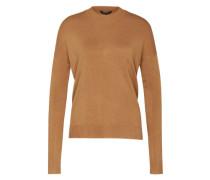 Pullover mit Stehkragen 'Fiola' beige
