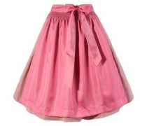 Trachtenrock in tollem Design pink