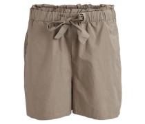 High Waist Shorts ' Vitula TIE Detail Shorts' beige