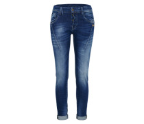 'New Georgia' Skinny Jeans blue denim