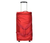 Dynamo 2-Rollen Reisetasche 67 cm rot
