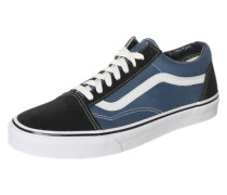 Sneaker Low 'old Skool' navy / schwarz / weiß
