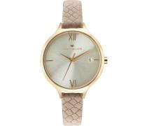 Armbanduhr »5416003« beige / gold