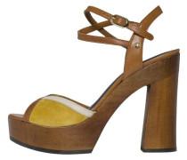 Sandale dunkelgelb