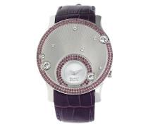 Armbanduhr Galene El101632F05 rotviolett / silber
