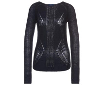 knit Strickpullover navy / dunkelblau