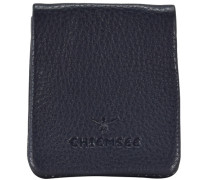 Little Geldbörse Schüttelbörse Leder 8 cm blau