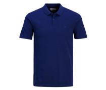 Lässiges Poloshirt blau