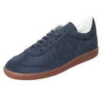 Sneaker 'Trainee' in Leder-Optik navy