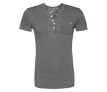 T-Shirt 'T Mike button' grau