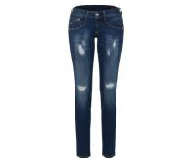 'Gila' Powerstretch-Jeans dunkelblau