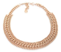 Halsketten 3 Types of chains short necklace gold