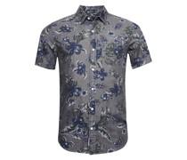 Kurzärmeliges Miami Loom Hemd