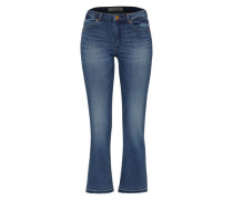 'Grace Spirit' Flared Jeans blau