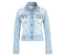 Jeansjacke im Cropped Stil 'Joplin' hellblau
