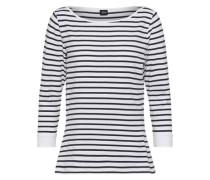 Streifen-Shirt weiß