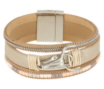 Armband 'Cowhead' braun