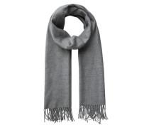 Woll-Schal graumeliert