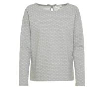 Sweater 'Noa Dottet Bow' graumeliert