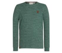 Pullover 'Hosenpuper Langen IV' marine / smaragd