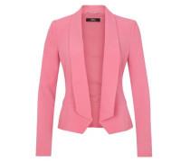 Puristischer Crêpe-Blazer pink