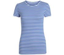 T-Shirt Gestreiftes mischfarben