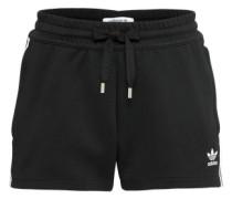 Shorts '3 Stripes' schwarz / weiß