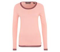 Pullover mit Glitzerdetails pink