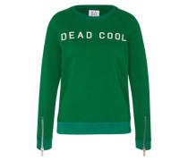 Sweatshirt 'dead Cool' grün