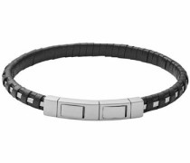 Armband 'vinther Skjm0153040' schwarz / silber