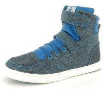 Sneaker 'slimmer Stadil Glitter' blau