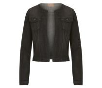 Jeansjacke in Black Denim black denim