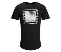 Lakko-T-Shirt schwarz