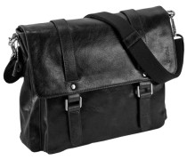 Buddy Business-Tasche Leder 37 cm schwarz