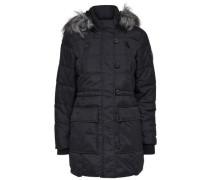 Nylon-Mantel schwarz