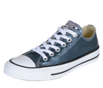 Sneaker 'Chuck Taylor Metallic Canvas' blau