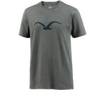 'Möwe' T-Shirt navy / dunkelgrau